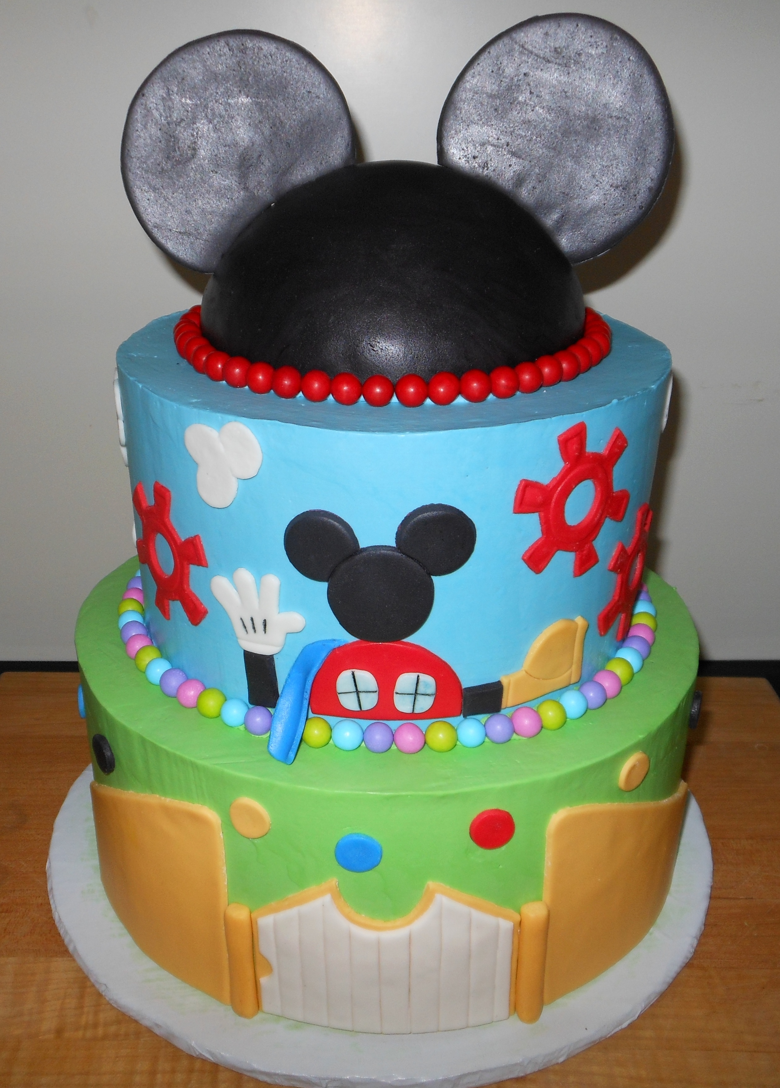 Mickey Mouse Clubhouse Cake Images : Mickey Mouse Clubhouse Sapphire Confections Bakery